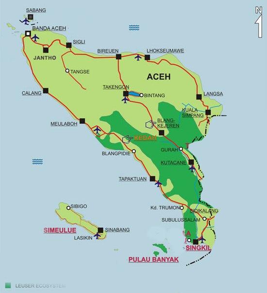 Peta Aceh Hd Visitbandaaceh Com